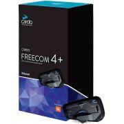 Intercomunicador Bluetooth Cardo Scala Rider Freecom 4 áudio JBL - UNIDADE