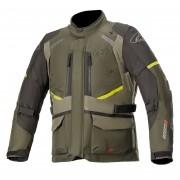 Jaqueta Alpinestars Andes V3 Verde Escuro DRYSTAR® 100% Impermeável