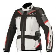 Jaqueta Alpinestars Stella Andes Pro DRYSTAR® Cinza Claro/Preta AIR TECH COMPATIBLE - IMPERMEÁVEL