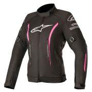 Jaqueta Alpinestars Stella Gunner V2 - Impermeável - Black/Pink