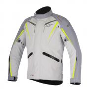 Jaqueta Alpinestars Yokohama Drystar Branco/Amarelo - 100% Impermeável