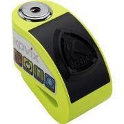 Trava de Disco com Alarme Kovix Aço Verde (KD6-FG)