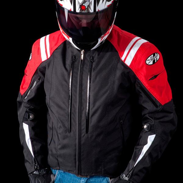 Jaqueta Joe Rocket Atomic 4.0 Vermelha  - Planet Bike Shop Moto Acessórios