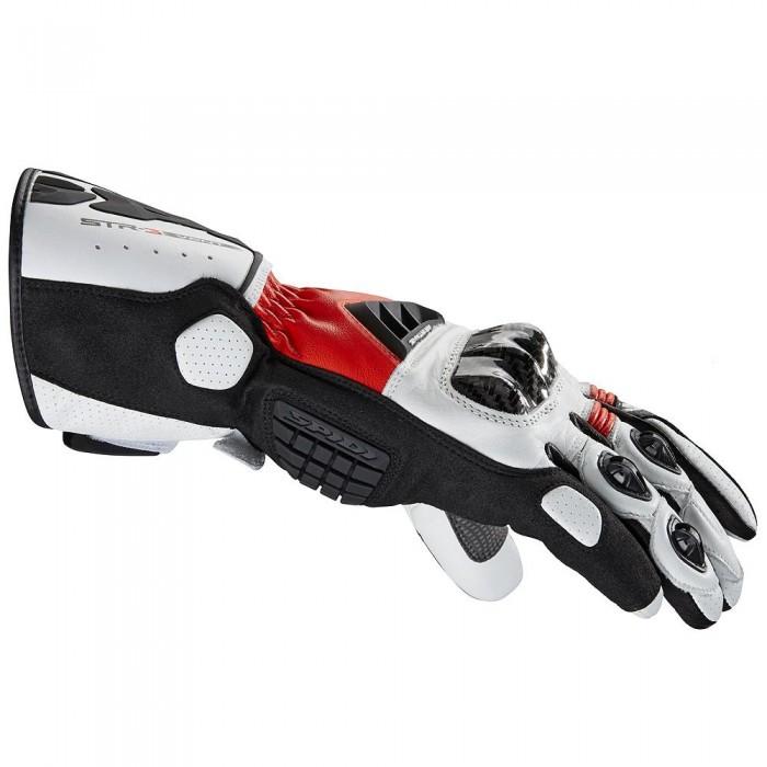 Luva Spidi STR-3 Ventilada Black/Red NOVA!  - Planet Bike Shop Moto Acessórios