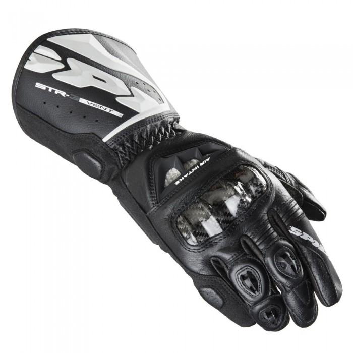 Luva Spidi STR-3 Ventilada Black NOVA!  - Planet Bike Shop Moto Acessórios