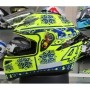 Capacete AGV K-1 Winter Test 15 Valentino Rossi Oficial Piloto (K1) - COM + 1,00 LEVE JUNTO A TOUCA BALACLAVA