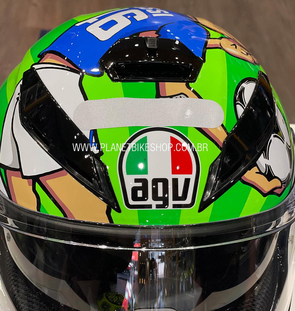 AGV k3 SV Rossi Mugello  - Planet Bike Shop Moto Acessórios