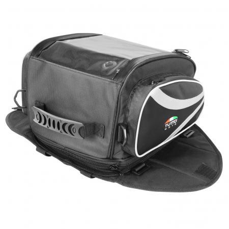 Bolsa Tutto Moto TB01 para tanque/traseira - 12LT Expansível e Magnética (Bolsa Traseira) - Ofertaço  - Planet Bike Shop Moto Acessórios