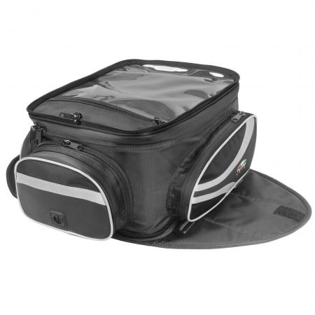 Bolsa para tanque Tutto Moto TB01 - 12LT Expansível e Magnética (Bolsa Traseira)  - Planet Bike Shop Moto Acessórios