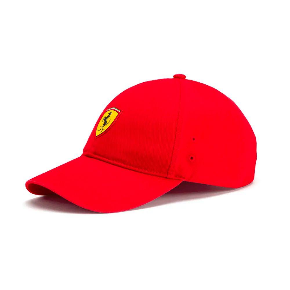 df04222c08 Boné Puma Ferrari Fanwear Baseball - Vermelho - Planet Bike Shop Moto  Acessórios