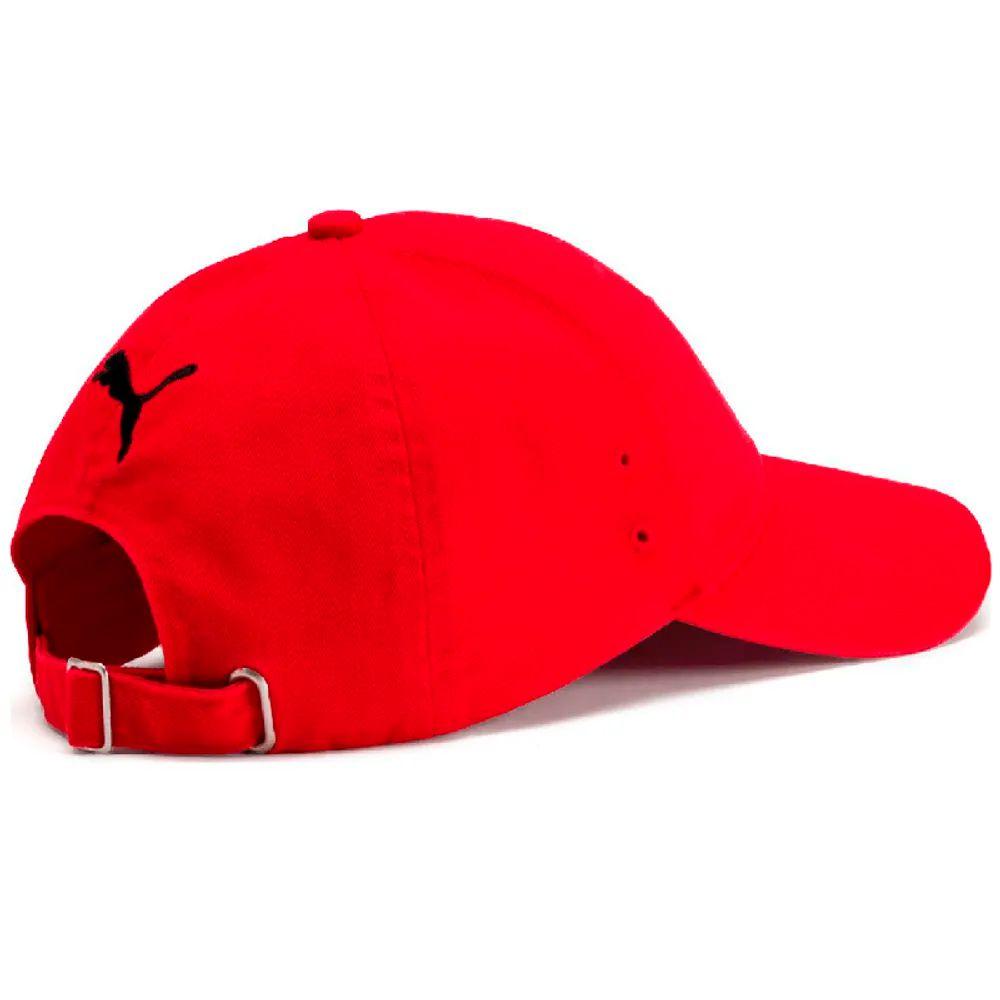 f3eb814163 Boné Puma Ferrari Fanwear Baseball - Vermelho - Planet Bike Shop Moto  Acessórios
