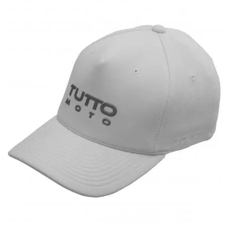 Boné Tutto Flex Logo Branco - Ofertaço  - Planet Bike Shop Moto Acessórios