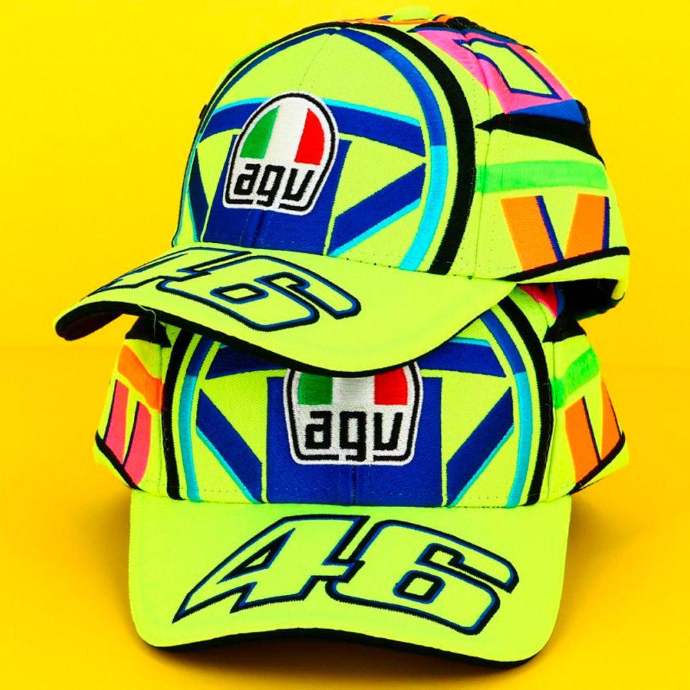 Boné Valentino Rossi VR46 Helmet  - Planet Bike Shop Moto Acessórios