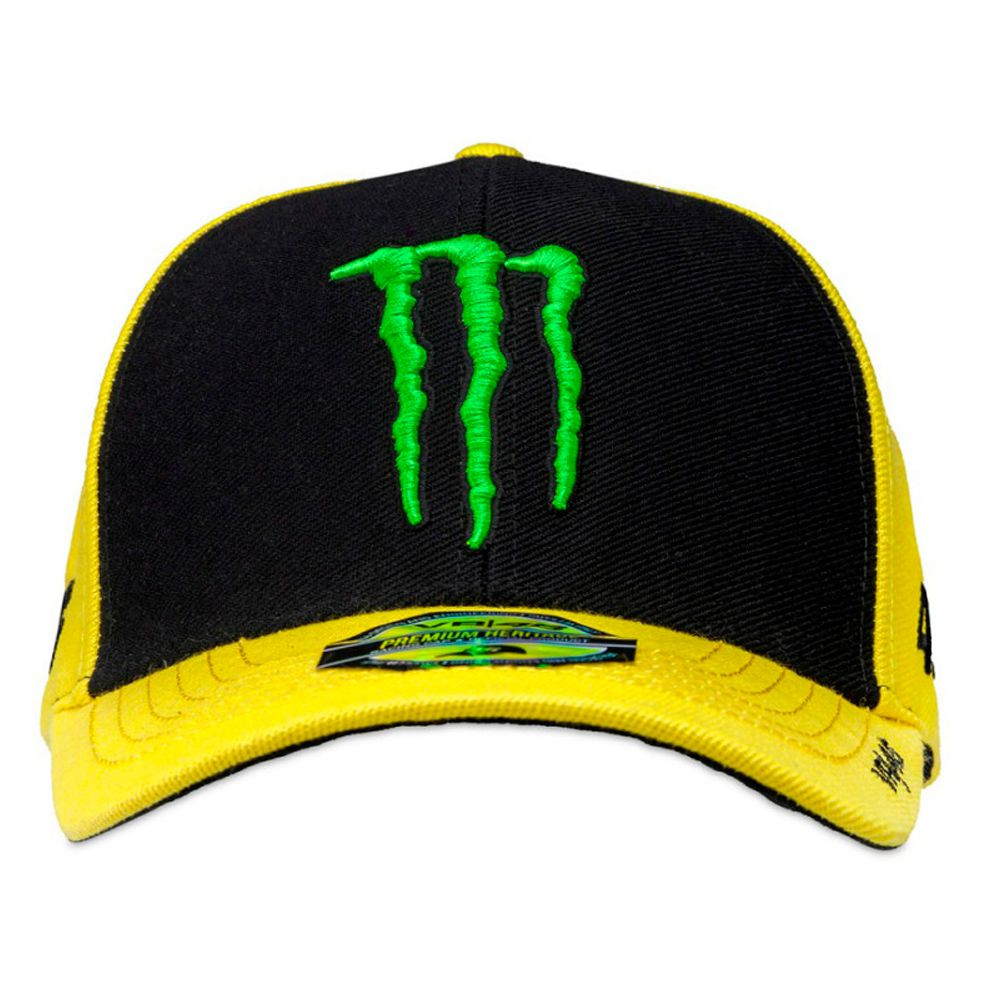 Boné Valentino Rossi VR46 Monster Yellow  - Planet Bike Shop Moto Acessórios