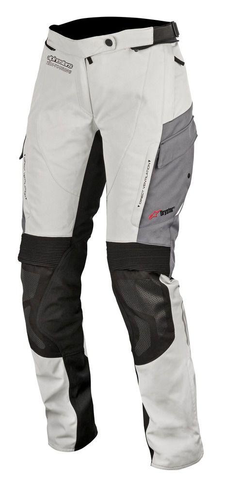 Calça Alpinestars  Stella Andes V2 Cinza DRYSTAR® 100% IMPERMEÁVEL   - Planet Bike Shop Moto Acessórios