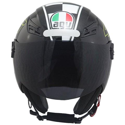 Capacete AGV BLade Celebre 8 Black (Valentino Rossi)  - Planet Bike Shop Moto Acessórios