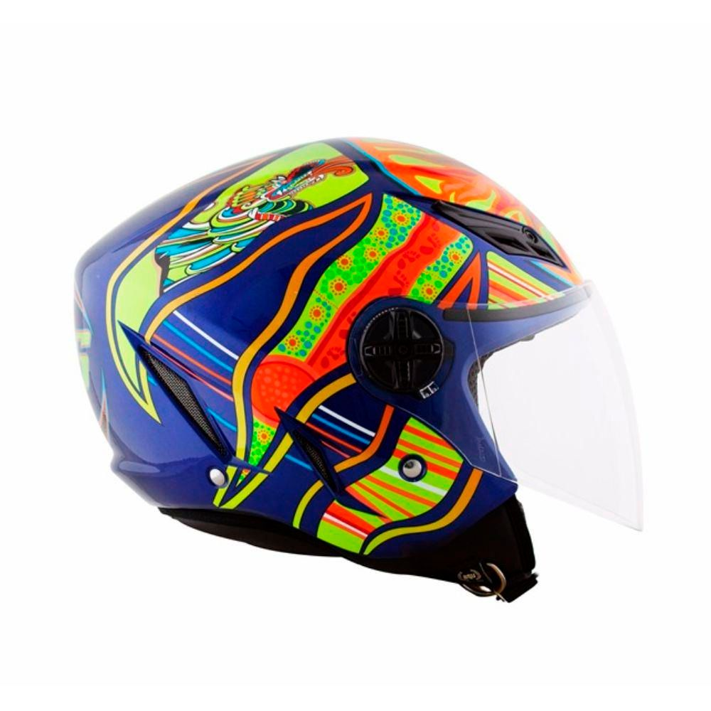 Capacete AGV Blade Five Continents Valentino Rossi (PRONTA ENTREGA)  - Planet Bike Shop Moto Acessórios