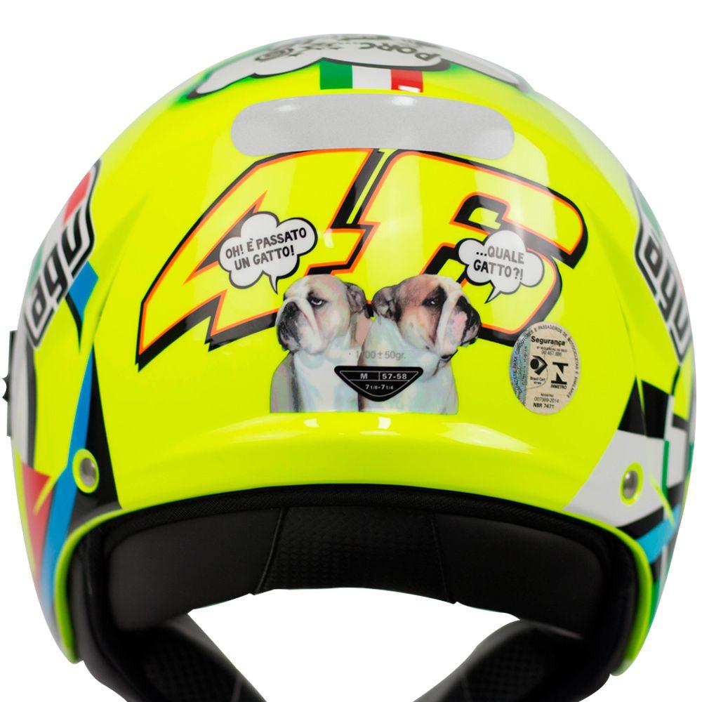 Capacete AGV Blade Misano Aberto Valentino Rossi  - Planet Bike Shop Moto Acessórios