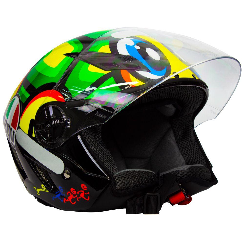 Capacete AGV Blade Tartaruga Valentino Rossi (PRONTA ENTREGA)  - Planet Bike Shop Moto Acessórios