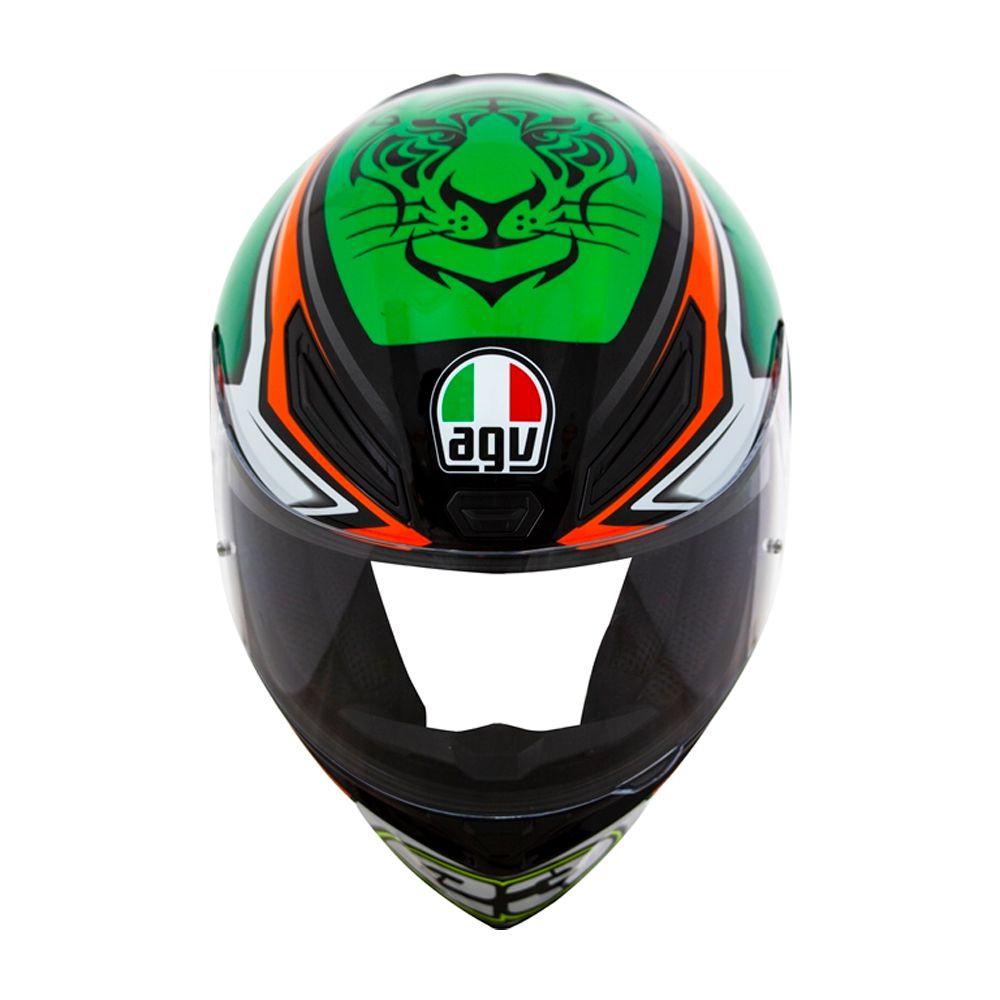 Capacete AGV K-1 Niccolo Antonelli Oficial Piloto (k1) - COM + 1,00 LEVE JUNTO A TOUCA BALACLAVA  - Planet Bike Shop Moto Acessórios