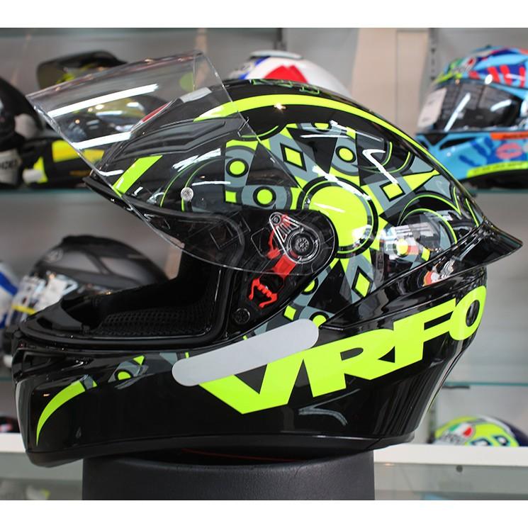 Capacete AGV K-1 Flavum 46 Valentino Rossi LANÇAMENTO!!!  - Planet Bike Shop Moto Acessórios