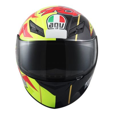 Capacete AGV K-3 Sun&Mon Valentino Rossi   - Planet Bike Shop Moto Acessórios
