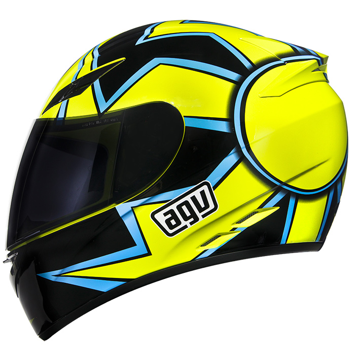 Capacete AGV K-3 Winter Test 05 Valentino Rossi   - Planet Bike Shop Moto Acessórios