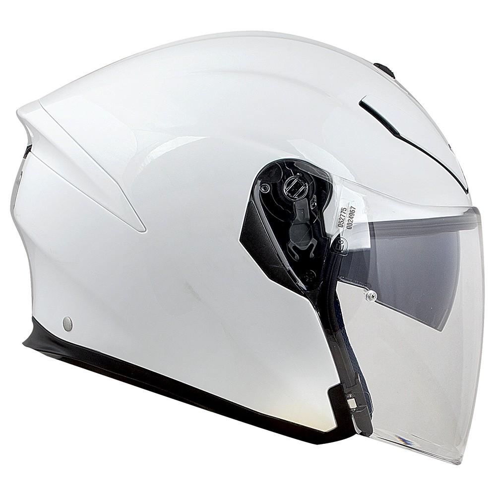Capacete AGV K-5 Jet Pearl White - Aberto - NOVO!  - Planet Bike Shop Moto Acessórios