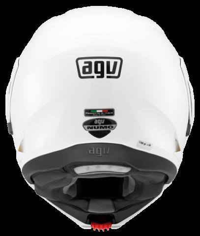 Capacete AGV Numo Evo Branco - Escamoteável  - Planet Bike Shop Moto Acessórios