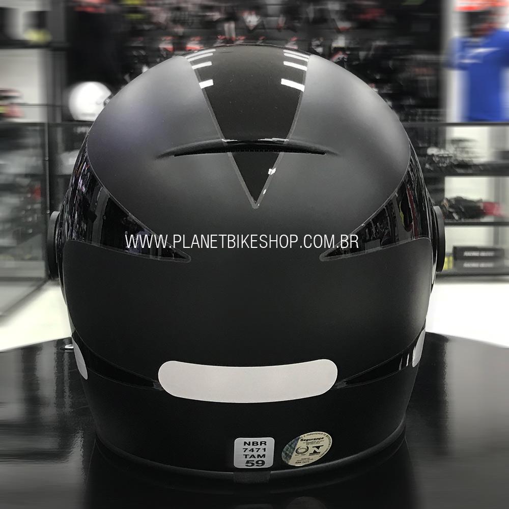 Capacete Bell Bullitt Boost Matte/gloss Black  - Planet Bike Shop Moto Acessórios
