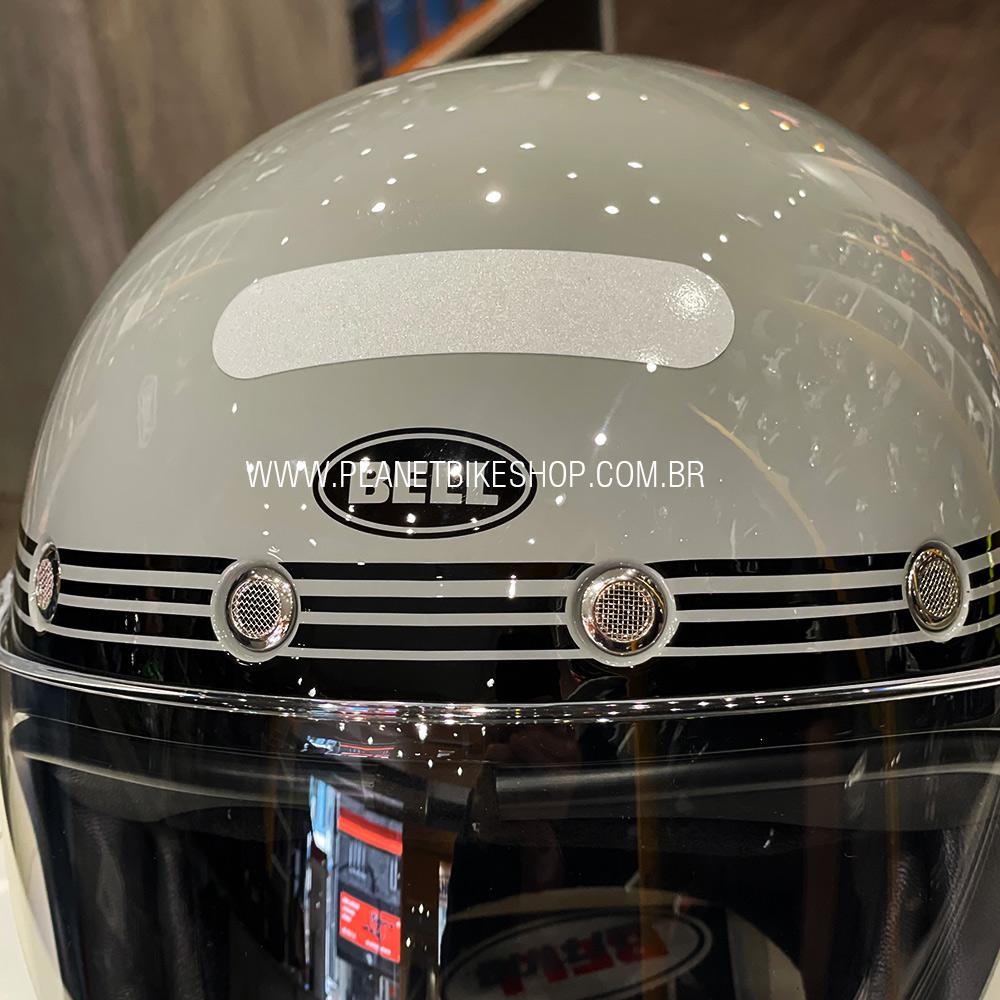Capacete Bell Bullitt Flow - Cinza/Preto  - Planet Bike Shop Moto Acessórios