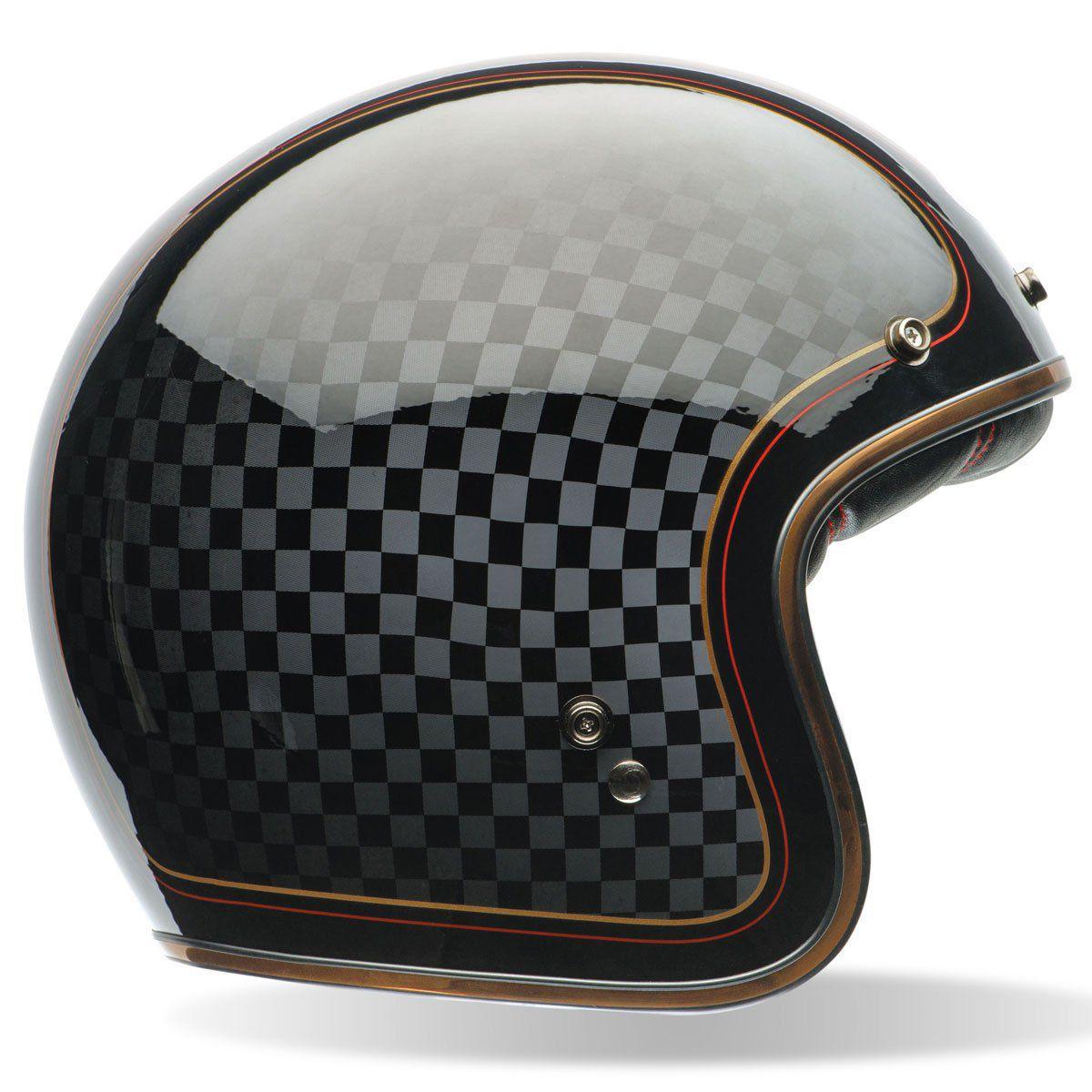 Capacete Bell Custom 500 RSD 74 Check It  - Planet Bike Shop Moto Acessórios