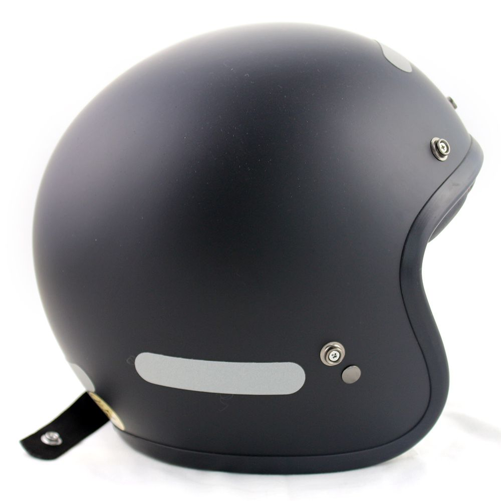 Capacete Bell Custom 500 Solid Matt Black  - Planet Bike Shop Moto Acessórios