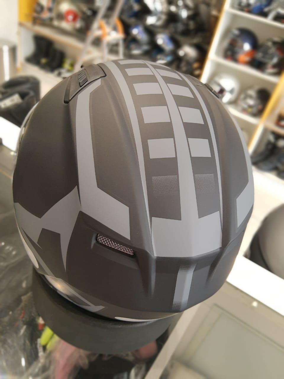 CAPACETE BELL QUALIFIER MOMENTUM PRETO FOSCO  - Planet Bike Shop Moto Acessórios