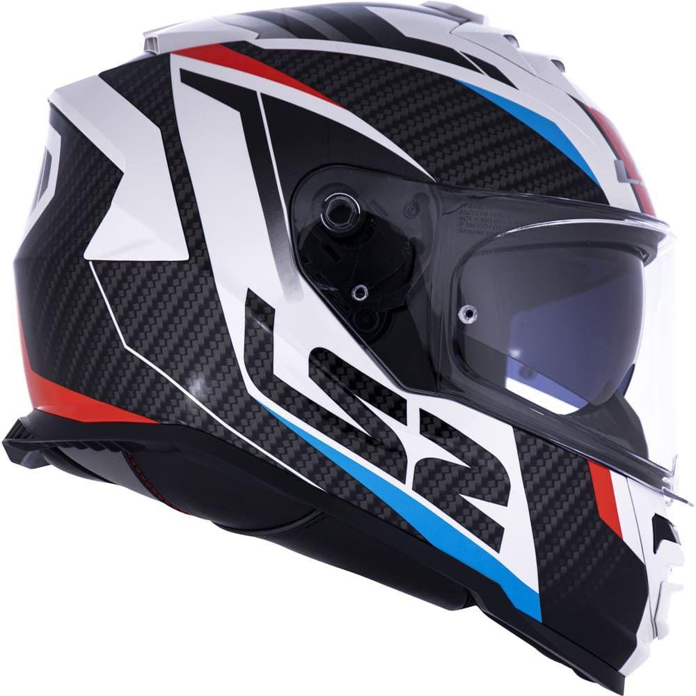 Capacete LS2 FF800 Storm Racer + viseira  - Planet Bike Shop Moto Acessórios