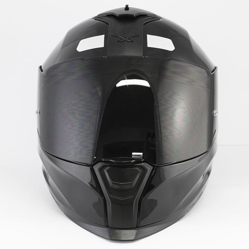 Capacete Nexx SX100 Core Edition Black C/ Viseira Solar   - Planet Bike Shop Moto Acessórios