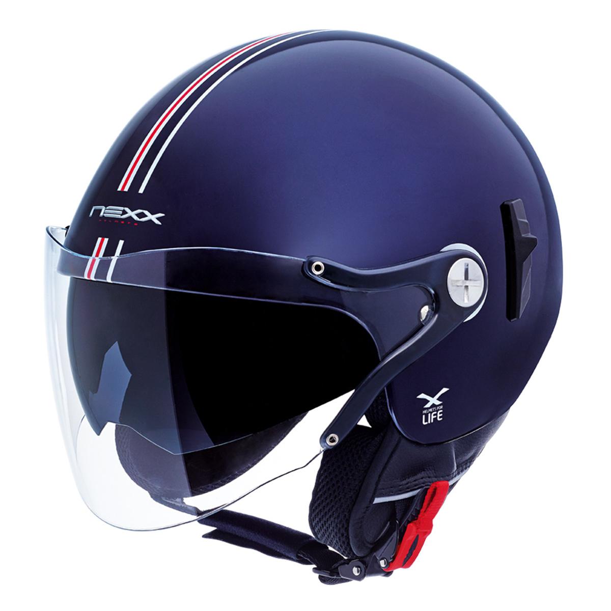 Capacete Nexx X60 Bastille Azul C/ Viseira solar NOVO!  - Planet Bike Shop Moto Acessórios
