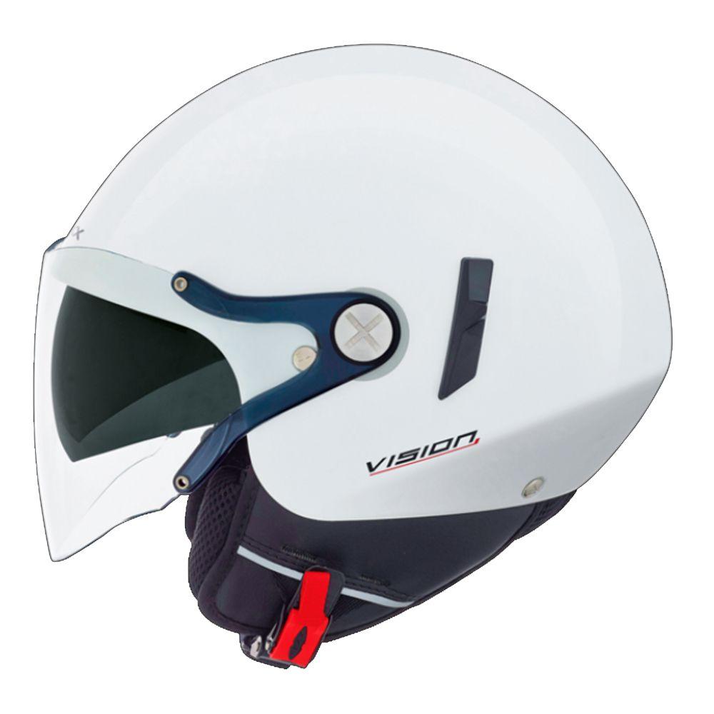 Capacete Nexx X60 VF2 - Branco Aberto