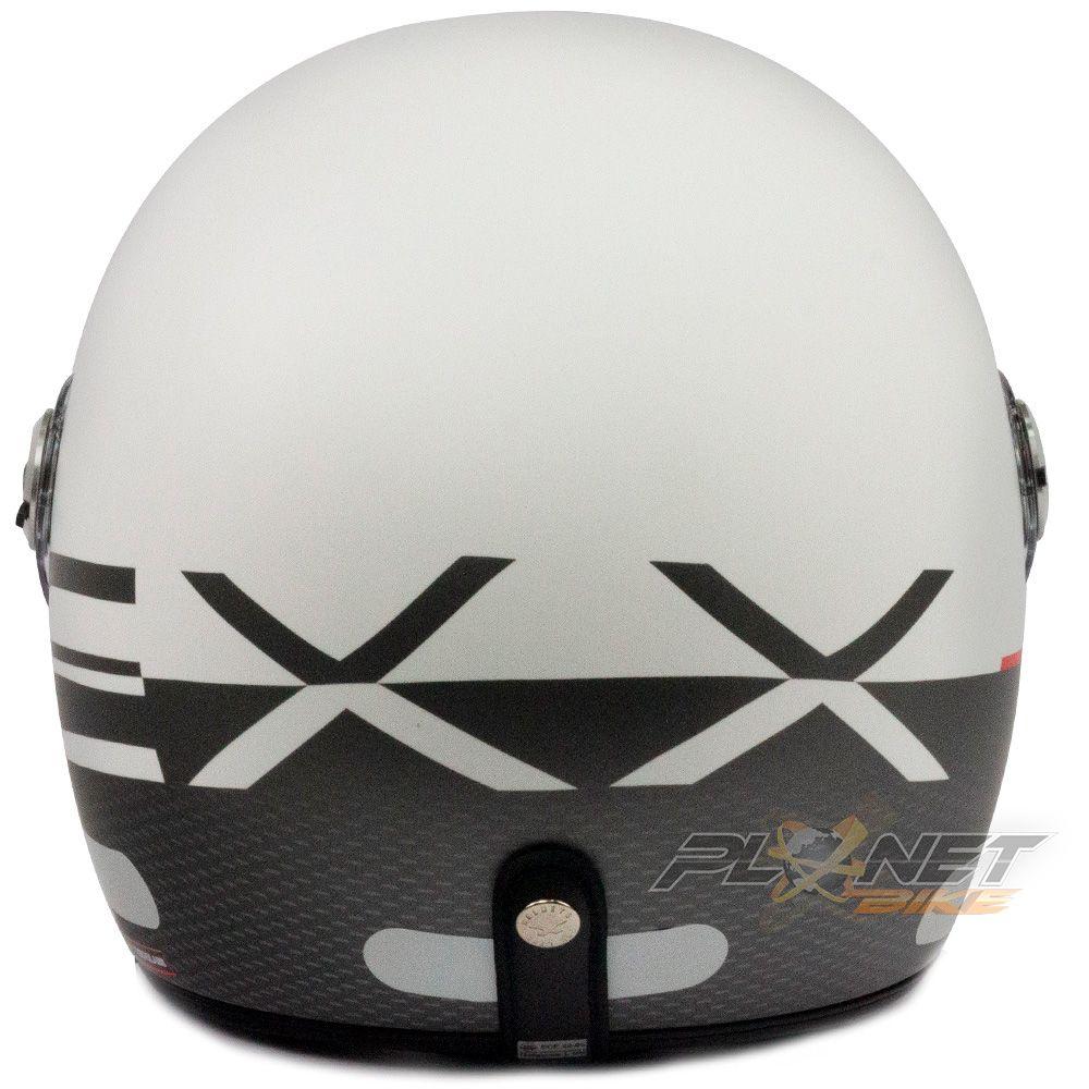 Capacete Nexx X70 City - Matt White/Black - SuperOferta  - Planet Bike Shop Moto Acessórios