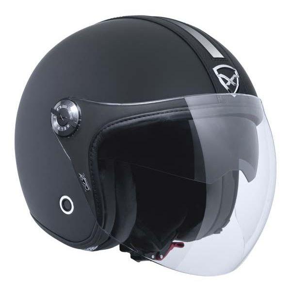 Capacete Nexx X70 Groovy Black/Black MT Aberto   - Planet Bike Shop Moto Acessórios