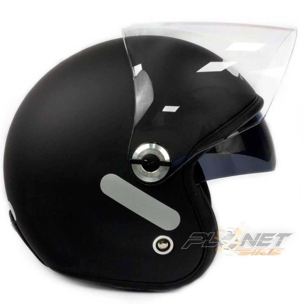 Capacete Nexx X70 City Plain Matt Black  - Planet Bike Shop Moto Acessórios