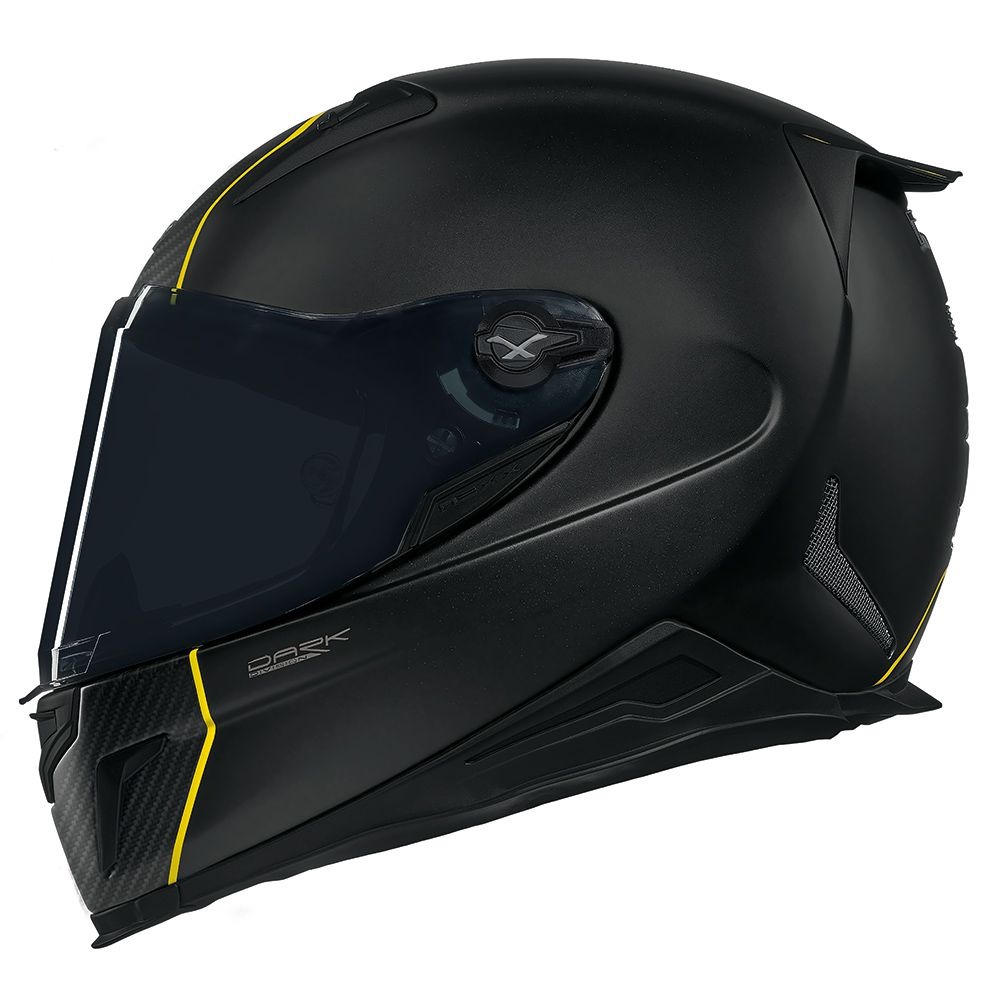 Capacete nexx XR2 Carbon Dark Division LANÇAMENTO!!! ACOMPANHA PELÍCULA ANTI EMBAÇANTE PINLOCK   - Planet Bike Shop Moto Acessórios