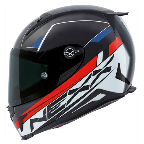 CAPACETE NEXX XR2 FUEL TRICOLOR Tri-Composto  - Planet Bike Shop Moto Acessórios