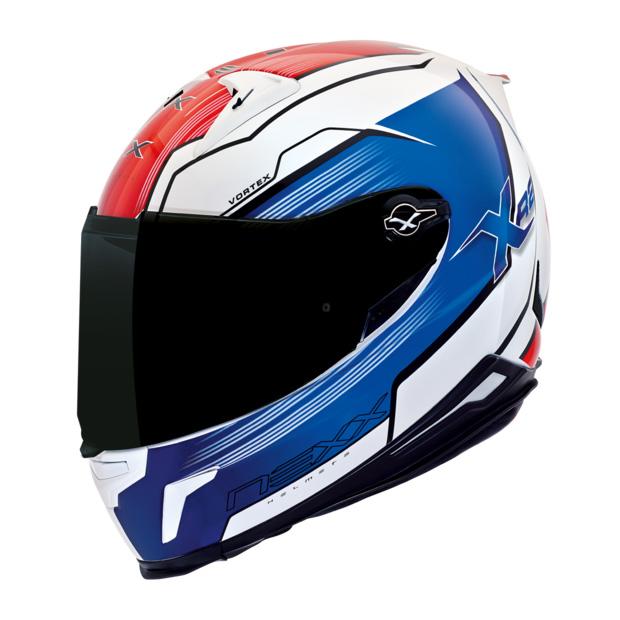 Capacete Nexx XR2 Vortex Azul Tri-Composto Tri-Composto  - Planet Bike Shop Moto Acessórios