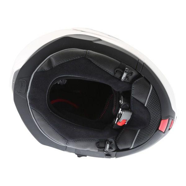 Capacete Nolan N100-5 Classic Branco Escamoteável C/ Viseira Solar - Ganhe Touca Balaclava  - Planet Bike Shop Moto Acessórios