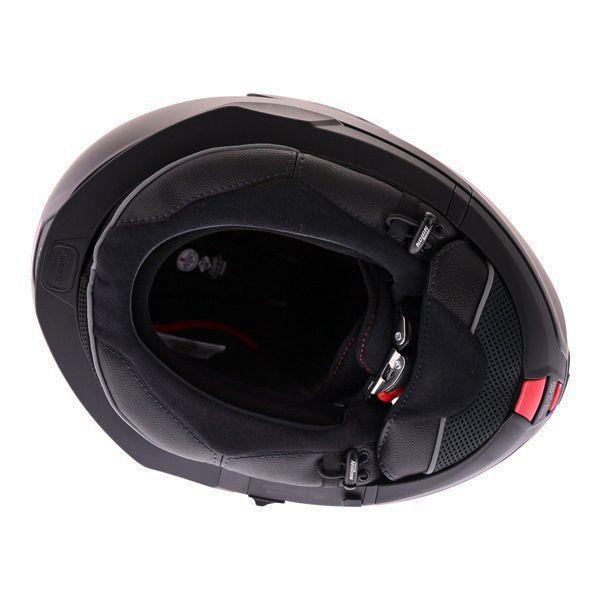 Capacete Nolan N100-5 Classic Preto Escamoteável C/ Viseira Solar - Ganhe Touca Balaclava  - Planet Bike Shop Moto Acessórios