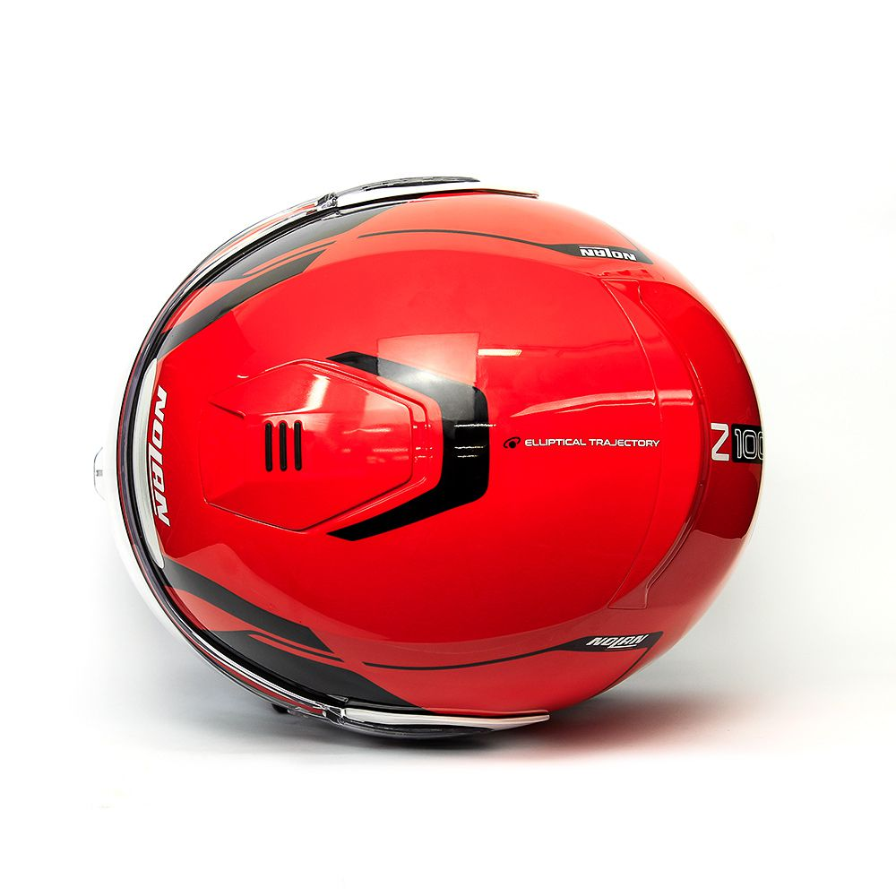 Capacete Nolan N100-5 Consistency Red/23 Escamoteável C/ Viseira Solar - Ganhe Touca Balaclava  - Planet Bike Shop Moto Acessórios