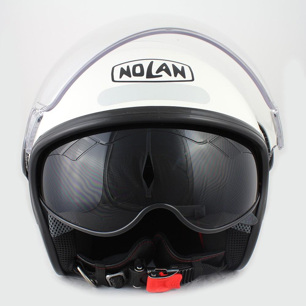 Capacete Nolan N21 Visor Classic White Cor 05 (Com Óculos Interno) - SuperOferta  - Planet Bike Shop Moto Acessórios