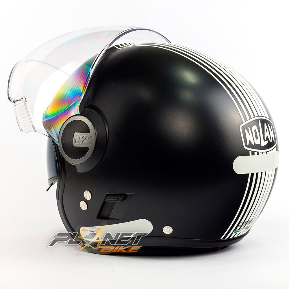 Capacete Nolan N21 Vivre Black Matte - Com Óculos Interno - SuperOferta - Blade  - Planet Bike Shop Moto Acessórios