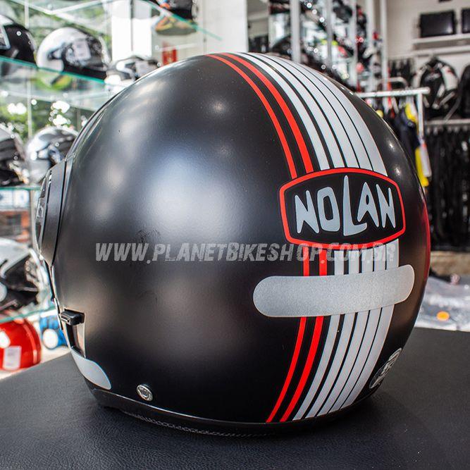 Capacete Nolan N21 Vivre Flat Black - Com Óculos Interno - SuperOferta - Blade  - Planet Bike Shop Moto Acessórios